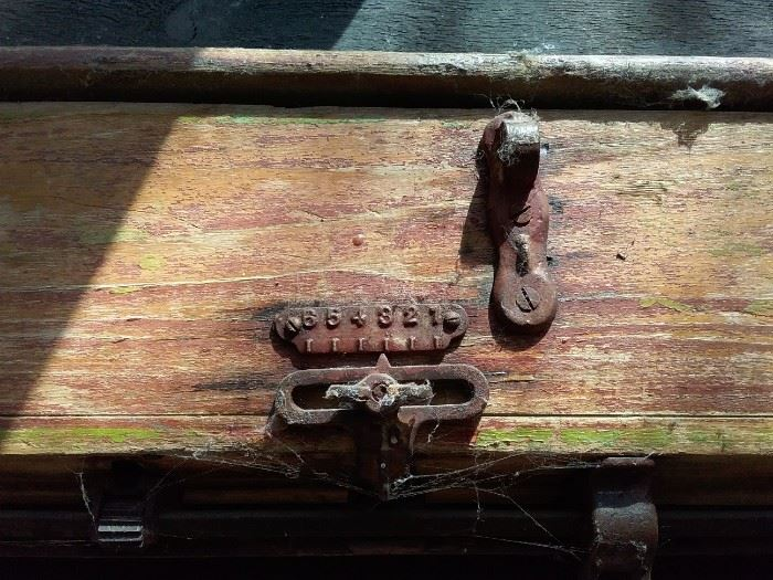 Antique Seed Spreader