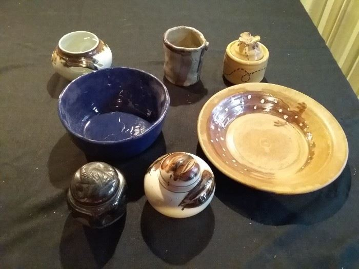Assorted Decorative Bowls
