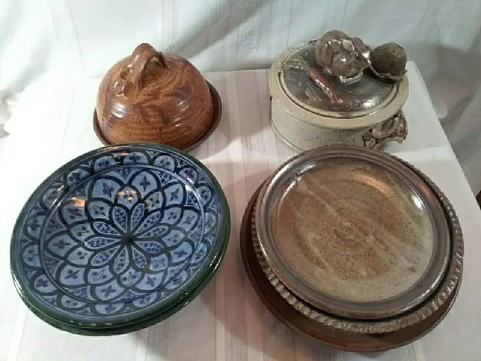 Assorted Pieces of Pottery