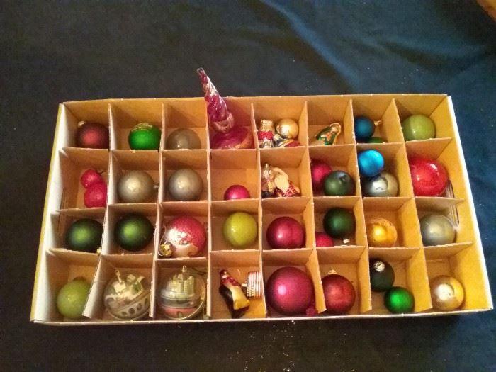 Box of Christmas Tree Bulbs