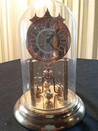 Brass and Glass Clock