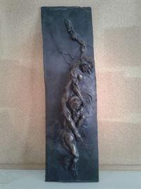 Bronze Rectangular Sculpture