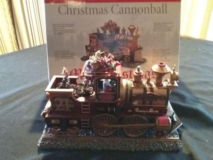 Christmas Cannonball
