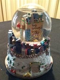 Christmas Snow Globe and Music Box