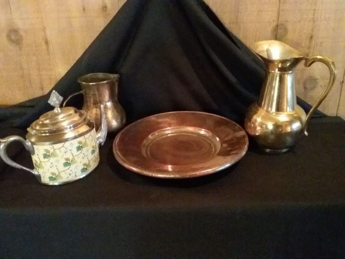 Copper and Brass Pieces