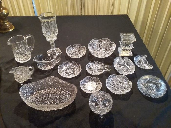 Cut Crystal and Glass