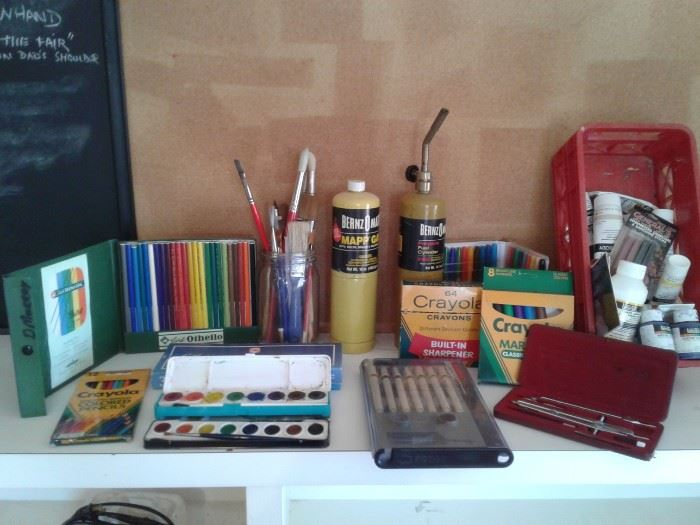 Drawing and Painting Items