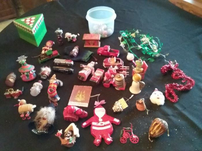 Grab Bag of Christmas Ornaments