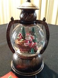 Lantern Shaped Christmas Snow Globe