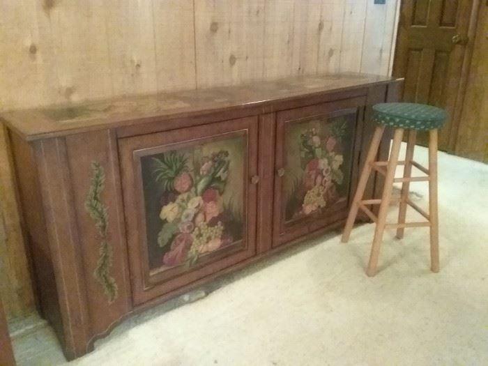 Large Dining Room Storage Cabinet