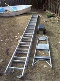Large Extension Ladder