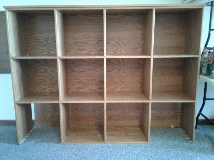 Large Wood Organizer