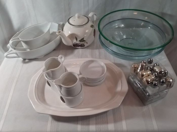 Lot of Items for Entertaining