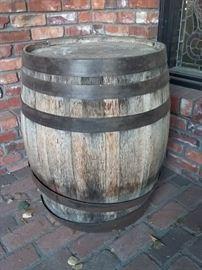 Old Keg Barrel
