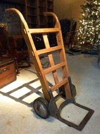 Old Style Hand Cart