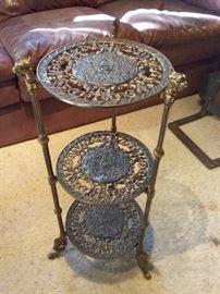 Ornate Metal Stand