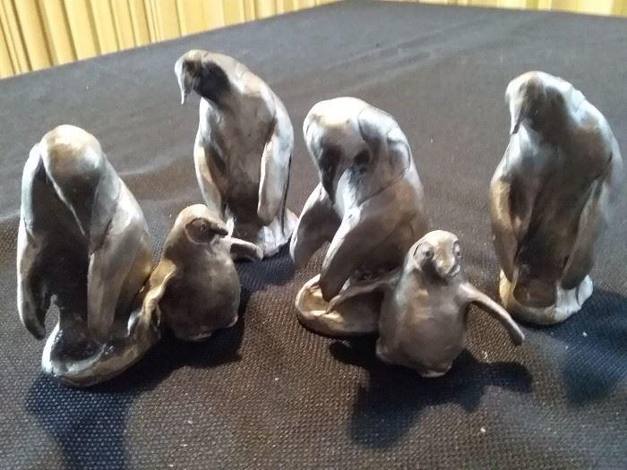 Pewter Sculptures