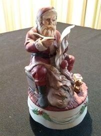 Santa Music Box