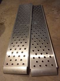 Set of Aluminum Ramps