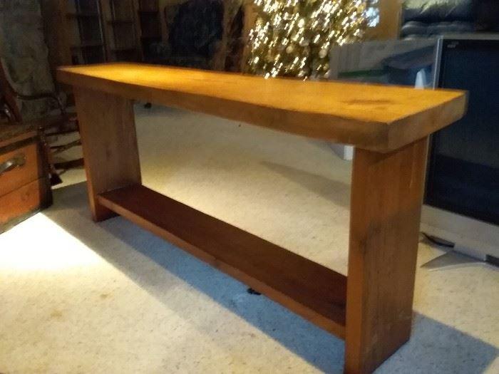 Solid Wood Display Table