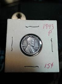 Uncirculated 1943 Penny