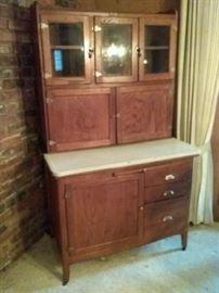 Vintage Antique Dining Room Hutch