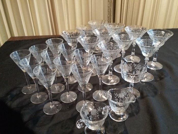Wine and Port Glassware