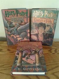 x3 Harry Potter Books
