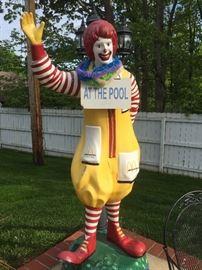 7 1/2 ft. fiberglass Ronald McDonald