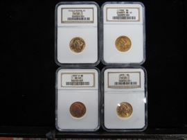 U.S $5.00 Gold Coins