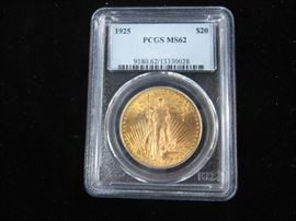 U.S. $20.00 Graded Gold Coin