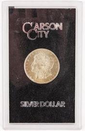 Lot 394 - Coin 1884-CC Morgan GSA Silver Dollar in Holder