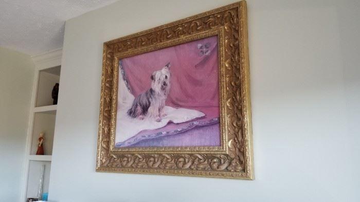 Yorkie Painting