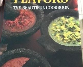 Large double coffee table cookbook combining Texas the Beautiful and Mexico the Beautiful cookbook.