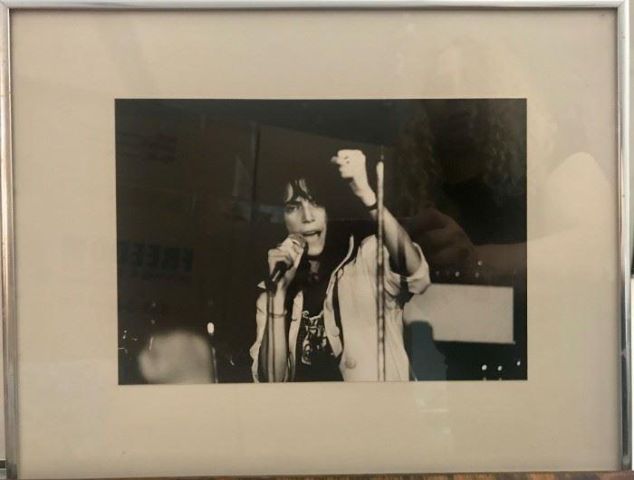 Patti Smith photograph