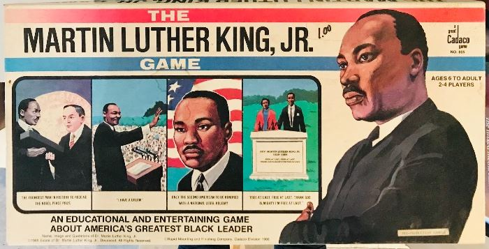 Rare Martin Luther King Jr game