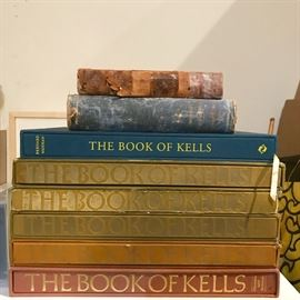 Book of Kells collection, Irish heritage and history books.