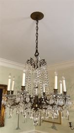 Gorgeous Vintage Crystal Chandelier