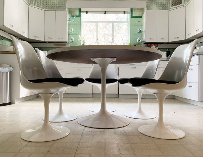 You should knoll better:) Knoll Tulip Chairs and Table