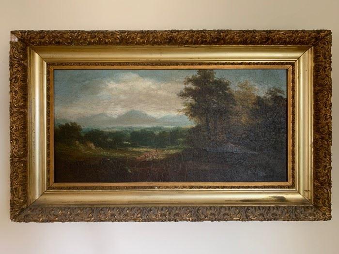 Samuel Gerry, Oil on Canvas, 11 x 23