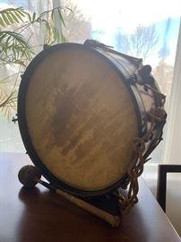 Civil War Drum, JL Miller Co