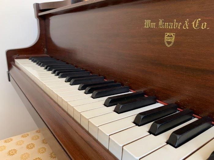 Knabe Parlor Grand Piano, 97371