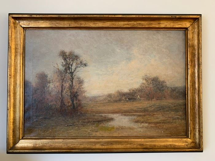 Bruce Crane, Oil on Canvas, 20 x 30