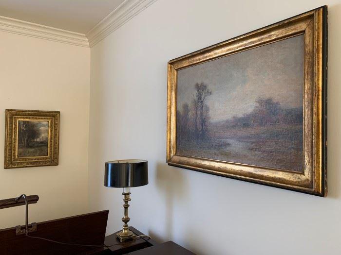 19th Century Oil Paintings