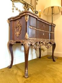 Late Baroque Style Console Tables, PAIR