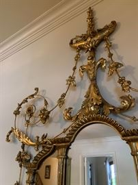 Detail Gilt Mirrors