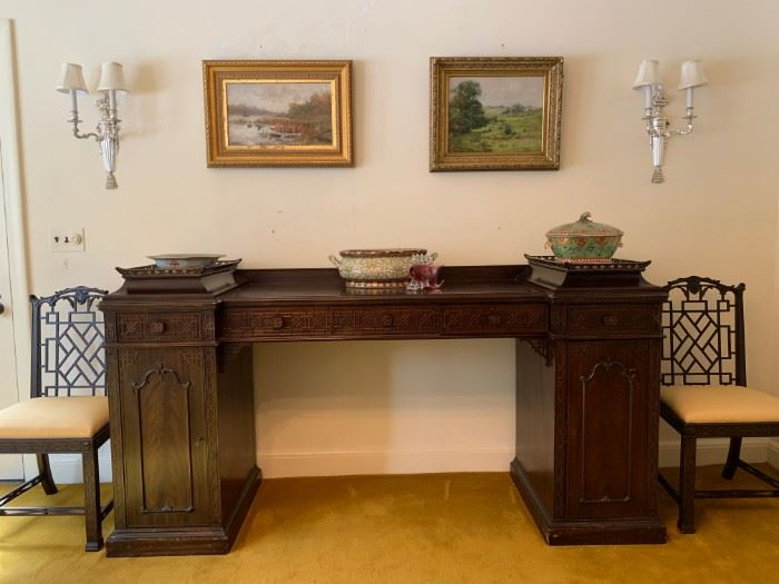 Irving and Casson Sideboard, Unique Lift Off Trays (Keep Scrolling)