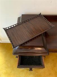 Unique Dual Lift Off Trays
