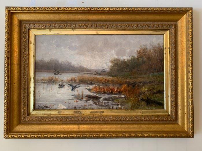 John Ferry, 12 x 20, Oil on Canvas