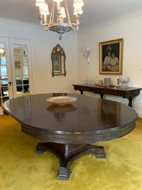 Irving and Casson Pedestal Dining Table
